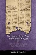 Voice of the Poor in the Middle Ages An Anthology of Documents from the Cairo Geniza