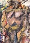 Willem De Kooning Tracing the Figure