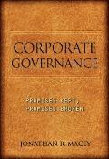 Corporate Governance - Promises Kept, Promises Broken