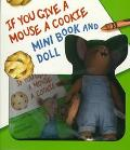 If You Give a Mouse a Cookie/Mini Book and Mouse Doll