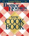 Better Homes and Gardens New Cook Book - Better Homes & Gardens - Hardcover - LIMITED