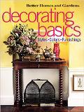 Decorating Basics Styles, Colors, Furnishings