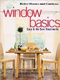 Window Basics Easy & No-Sew Treatments
