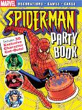 Spiderman Party Book