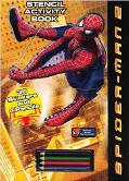 Spider-Man 2 Stencil Activity Book