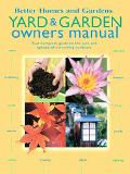 Better Homes and Gardens Yard & Garden Owners Manual