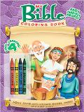 Bible Color & Activity With Crayons
