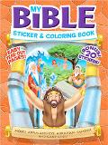 Bible Color & Activity With Stickers