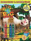 It's a Big Big World Color & Activitybook & Crayons