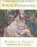 Student Study Guide for use with Social Psychology