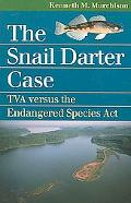 Snail Darter Case Tva Versus the Endangered Species Act
