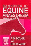 Handbook of Equine Anaesthesia