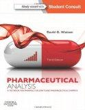 Pharmaceutical Analysis: A Textbook for Pharmacy Students and Pharmaceutical Chemists, 3e