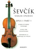 VIOLIN STUDIES OPUS 1 PART 1 SCHOOL OF VIOLIN TECHNIQUE   BY SEVCIK