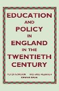 Education and Policy in England in Twentieth Century