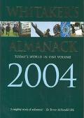 Whitaker's Almanack 2004