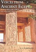 Voices from Ancient Egypt An Anthology of Middle Kingdom Writings
