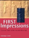 First Impressions Cylinder Seals in the Ancient Near East