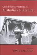 Contemporary Issues in Australian Literature International Perspectives