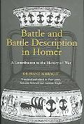Battle and Battle Description Homer A Contribution to the History of War