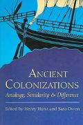 Ancient Colonisations Analogy, Similarity And Difference