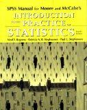 SPSS Manual: for Introduction to the Practice of Statistics 4e