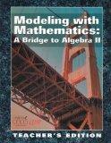 Modeling with Mathematics - A Bridge to Algebra II (Teacher's Edition)