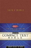Nelson Compact Text Bible New King James Version, Burgundy, Bonded Leather