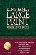 King James Large Print Reference Bible