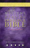 Master's Healing Presence Bible KJV Black, Bonded Leather, Gilded-Gold Page Edges