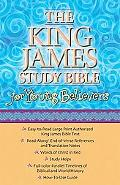 King James Study Bible for Young Believers Burgundy Leatherflex