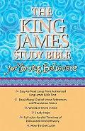 King James Study Bible for Young Believers Black Leatherflex