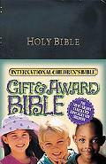 International Children's Bible Gift & Award Bible  Black Leatherflex