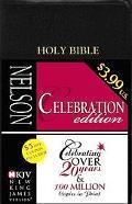 Celebration Edition: Holy Bible (NKJV) New King James Version (Black Leatherflex)