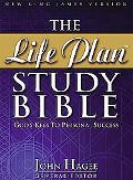 Life Plan Study Bible New King James Version Black Bonded Leather
