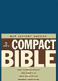 Holy Bible New Century Version, Blue Bonded Leather