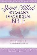 Spirit-Filled Woman's Devotional Bible New King James Version Purple, Finding and Fulfilling...