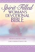 Spirit-Filled Woman's Devotional Bible New King James Version, Tyrian Purple, Bonded Leather...