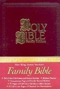 Family Bible - NKJV - Christmas