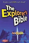 Explorer's Bible for Kids : Explore and Live God's Word