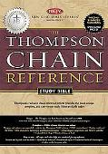 Thompson Chain-Reference Study Bible New King Jame's Version, Black Genuine Leather-Gilded G...
