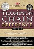 Thompson Chain Reference Study Bible New King James Version, Burgundy Genuine Leather, Gilde...