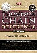 Holy Bible Thompson Chain Reference, Burgundy, Indexed