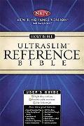 Holy Bible New King James Version Black Ultraslim Reference