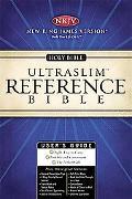 Holy Bible New King James Version, Black, Ultraslim Reference