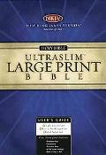NKJV Large Print Ultraslim Bible