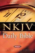 Daily Bible New King James Version, Full Color