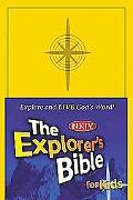 Explorer's Bible For Kids New King James Version, Yellow, Imitation Leather
