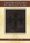 Holy Bible New Century Version, Black, Center-column Reference, Bonded Leather, Compact