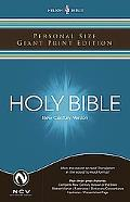 Holy Bible New Century Version Personal Size Giant Print